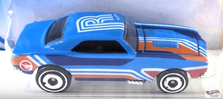 Hot Wheels Q Case Treasure Hunt '67 Camaro
