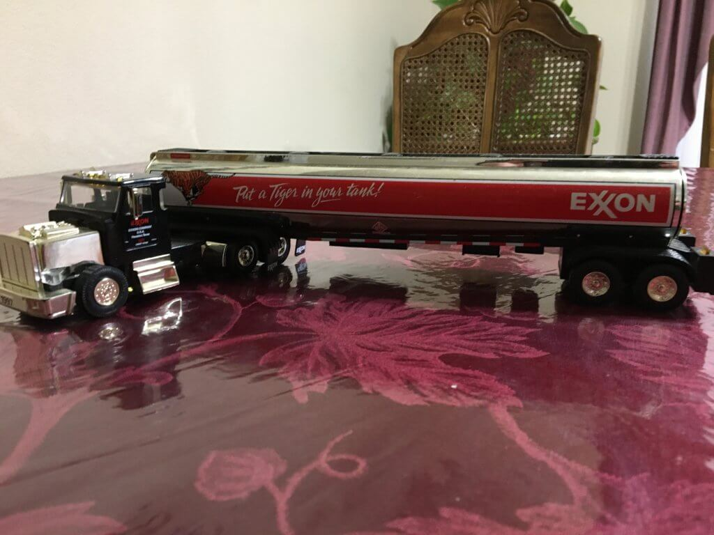 Limited Edition Exxon Tanker Truck Toy