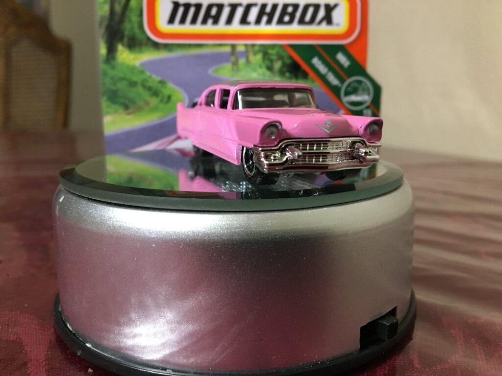Pink Cadillac Matchbox casting