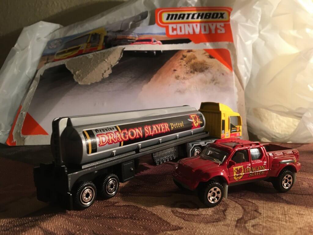 2020 matchbox dragon slayer convoy truck